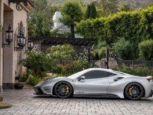 Misha Designs приодел Ferrari 488 GTB в агрессивный обвес