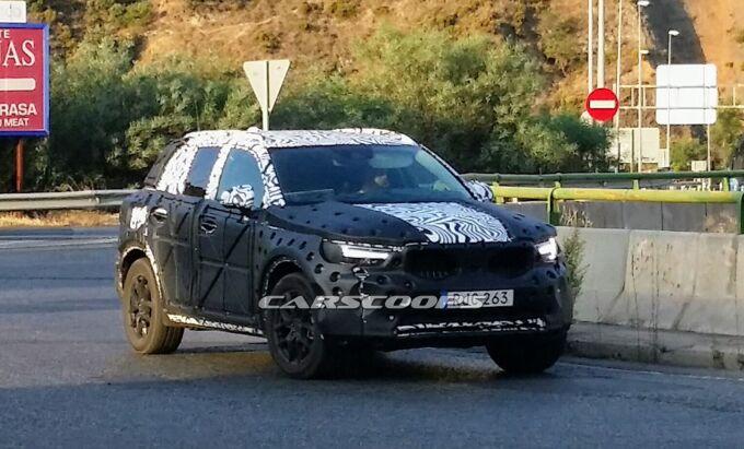 Volvo XC40 отправили в Испанию