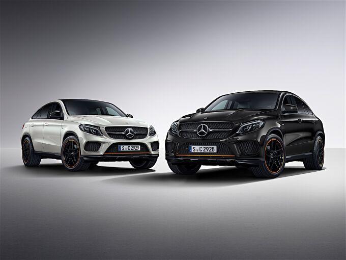 Mercedes-Benz GLE Coupe дополнили специальной версией OrangeArt