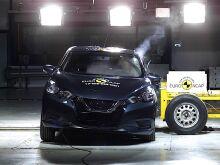 Nissan Micra получил «четверку» от EuroNCAP