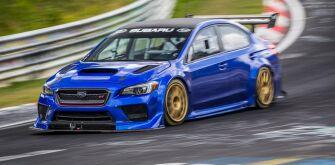 Subaru публикует видео о рекордном заезде WRX STI Type RA NBR Special в Нюрбургринге